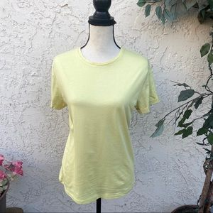 New! A New Day Yellow T Shirt Small